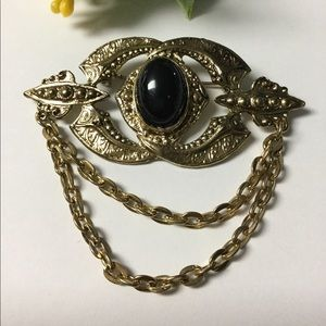 Vintage Detailed Victorian Style Brooch